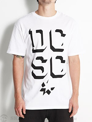 DC 4th Dimension Tee White SM