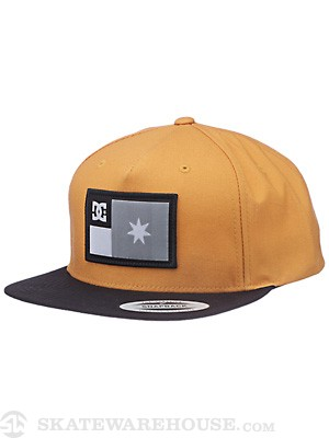 DC Allegiant Hat Gold Adjust