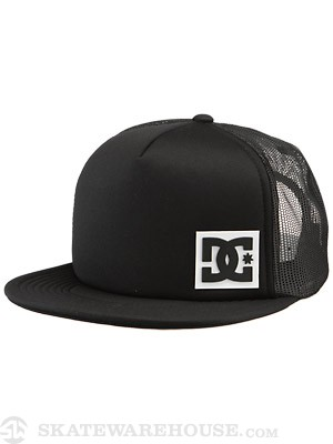 DC Blanderson Trucker Hat Black/White Adjust