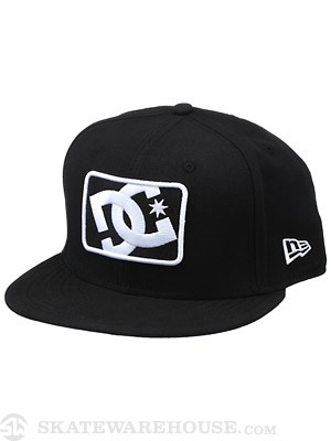 DC Buzzcutt New Era Snapback Hat Black Adj.