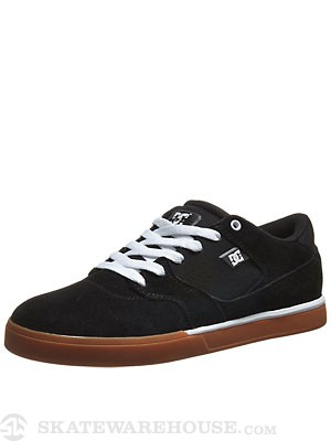 DC Cole Lite Shoes  Black/White/Gum