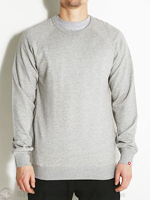 DC Core Crew Sweatshirt Heather Grey SM
