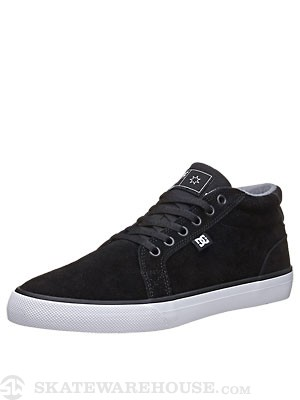 DC Council Mid S Shoes  Black