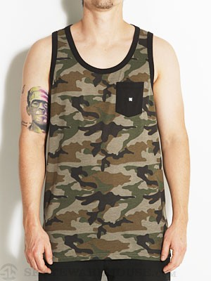 DC Contra Tank Top Camo MD
