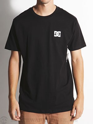 DC Chest Star Tee Black MD
