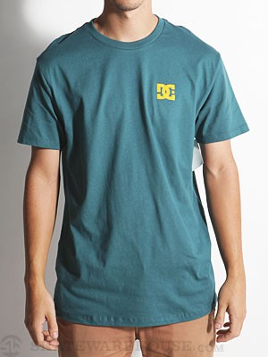 DC Chest Star Tee Moss SM