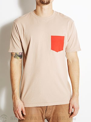 DC Double Up Tee Natural SM