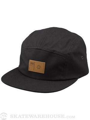 DC Encampment 5 Panel Hat Black Adj.