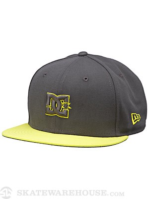 DC Empire SE Fitted Hat Pewter 7 1/4