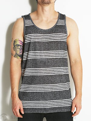 DC Heroland Tank Top Black Stripe MD