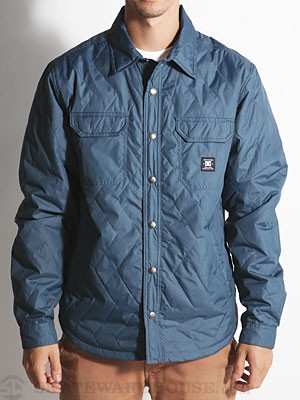 DC Munich Jacket Army Blue Herringbone LG