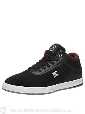 DC Mike Mo Mid S Shoes  Black/White/Silver