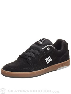 DC Nyjah S Shoes  Black/Gum