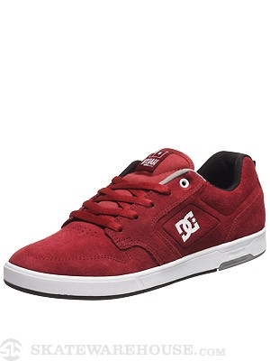 DC Nyjah S Shoes  Burgundy