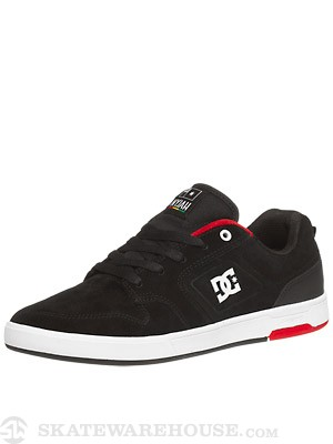 DC Nyjah S Shoes Black/White