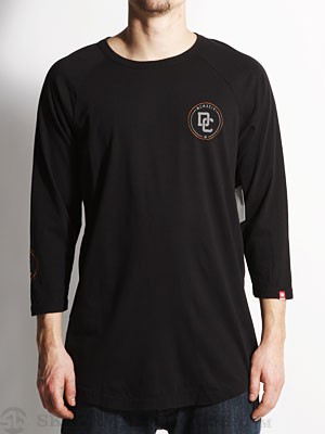 DC Pike Raglan Black MD