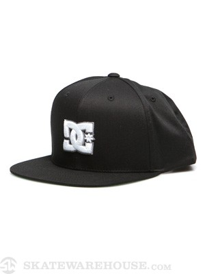 DC Snappy Snapback Hat Black