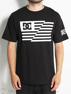 DC RD USA Flag Tee Black MD