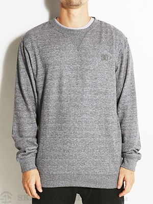 DC Rebel Crew Sweatshirt Dark Heather SM