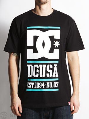 DC RD Lock Up Tee Black SM