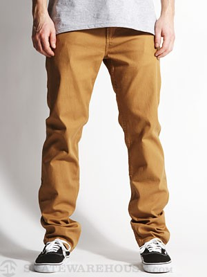 DC Straight Canvas Pants Medal Bronze 32