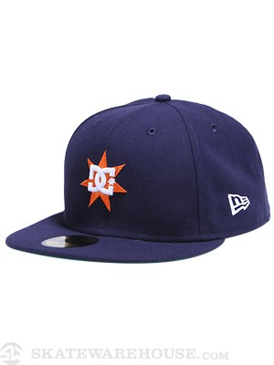 DC Supergnar Fitted Hat Navy/DN1 7 3/8