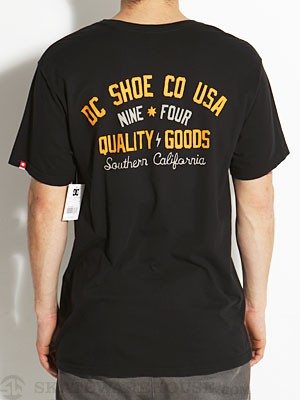 DC Shop Tee Black SM