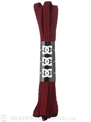 DC Shoelaces  BURGUNDY