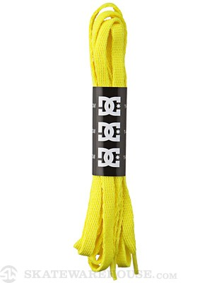 DC Shoelaces  YELLOW
