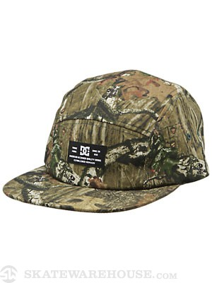 DC Surprise 5 Panel Camp Hat Camo Adjust