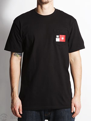 DC The Pocket Tee Black SM