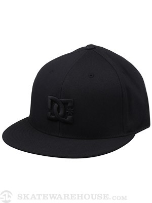 DC Take That 210 Fitted Hat Black SM/MD