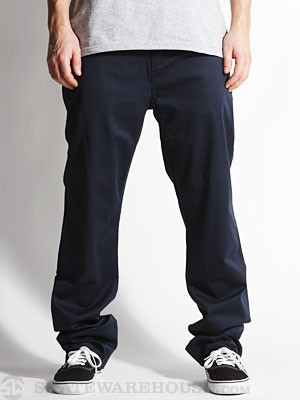 DC Straight Worker Pants Navy 34
