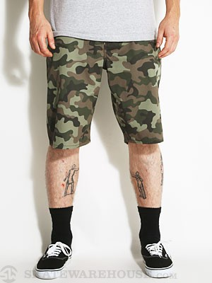 DC Worker Shorts Camo 28
