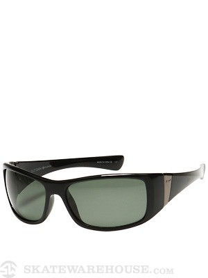 Dot Dash Convex Black Gloss w/Grey Polarized Lens