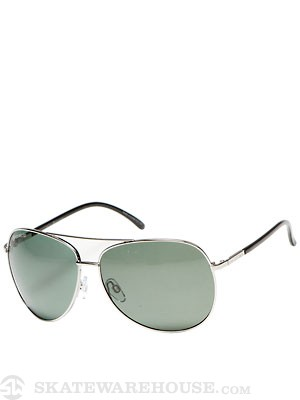 Dot Dash Nookie Silver Gloss/Grey Polarized Lens