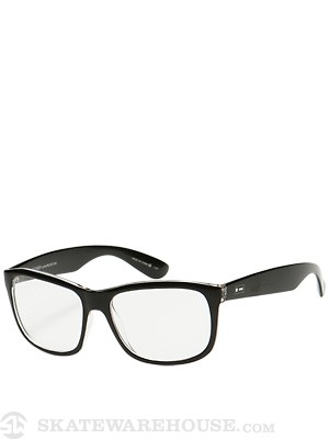 Dot Dash Poseur Black Gloss w/Clear Lens