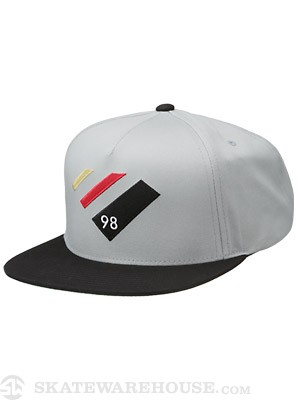 Diamond 98 Supply Snapback Hat Grey