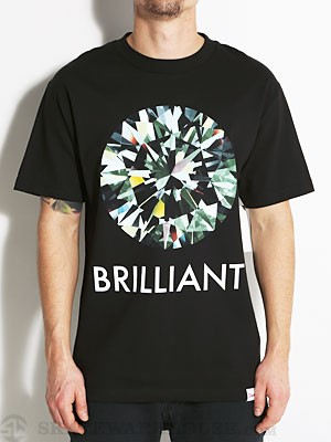 Diamond Brilliant Tee Black MD