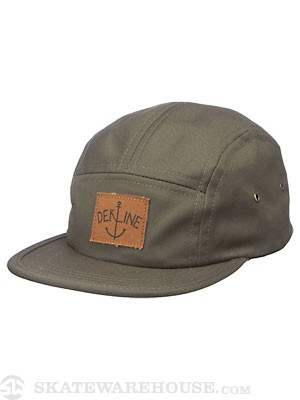 Dekline 5 Panel Hat Army Adjust