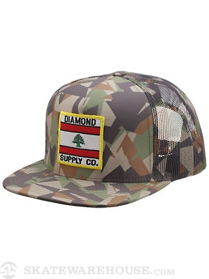 Diamond My Country Mesh Hat Camo
