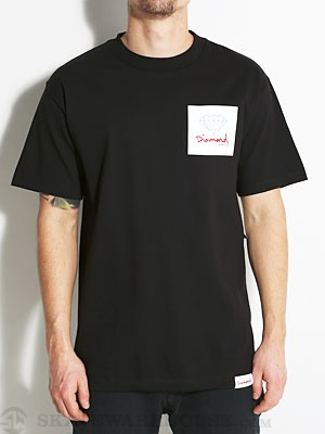 Diamond OG Sign Tee Black SM