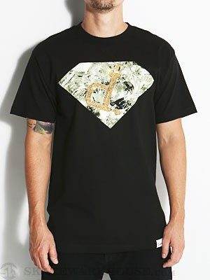 Diamond Shining Ben Baller Un-Polo Tee Black SM