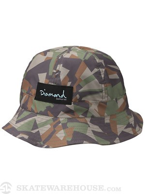Diamond Simplicity Reversible Bucket Hat Camo