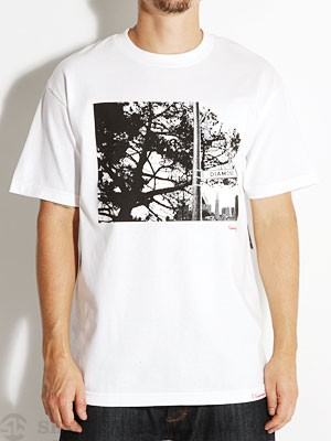 Diamond Street Tee White MD