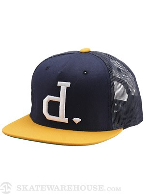 Diamond Un-Polo Mesh Hat Navy
