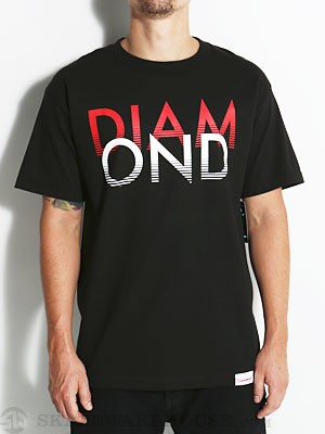 Diamond White Sands Tee Black SM