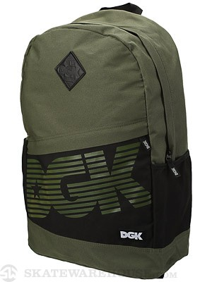 DGK Angle 3 Backpack Army/Black