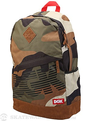 DGK Angle Deluxe 2 Backpack Big Woods Camo