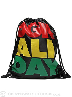 DGK All Day Cinch Bag  Rasta
